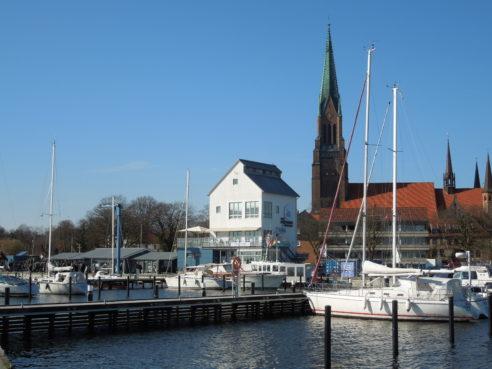 Neues Cafe´am Schleswiger Hafen