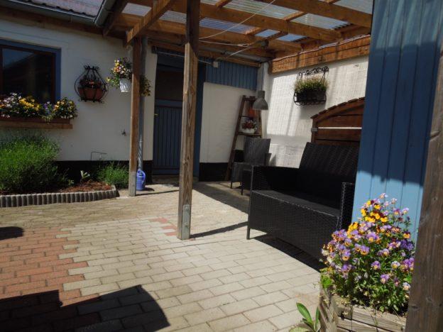Mehr Komfort für Garten und Raucherecke
