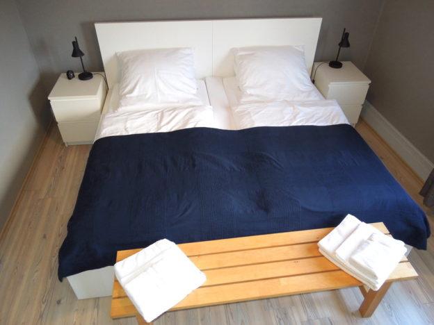 Das Schlafzimmer hat sich verändert